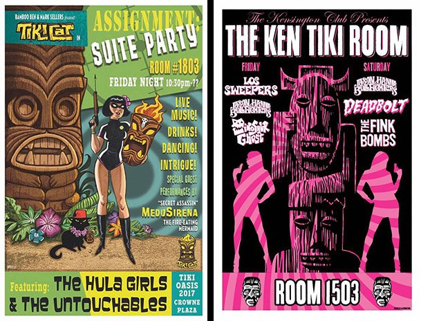 Tiki Oasis room parties