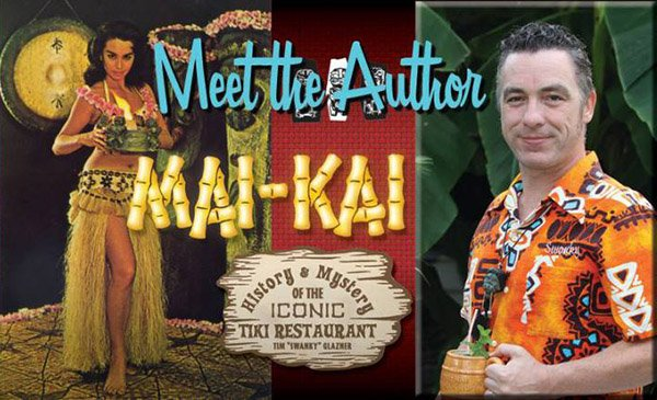 "Book signings and presentations by Tiki ""Swanky"" Glazner"