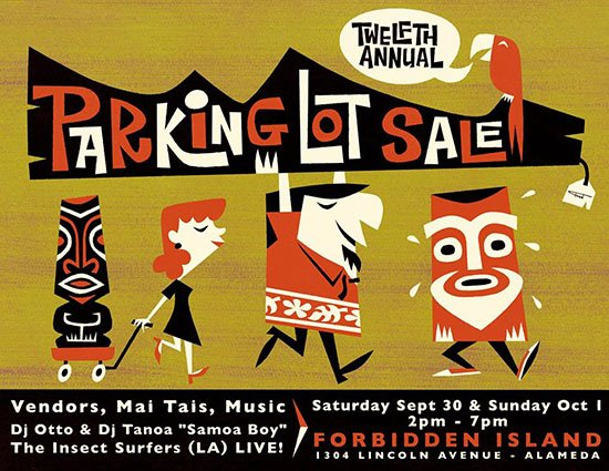 Forbidden Island's 12th Annual Parking Lot Sale