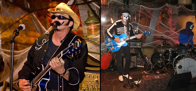 Hulaween 2012 and 2011 - Slip and the Spinouts