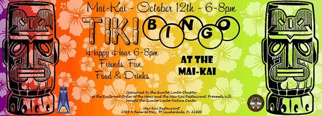 Tiki Bingo at The Mai-Kai