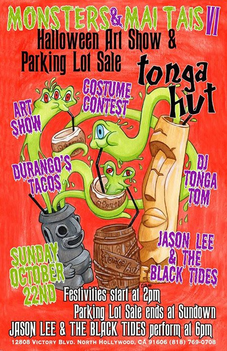 Monsters & Mai Tais Parking Lot Sale & Art Show