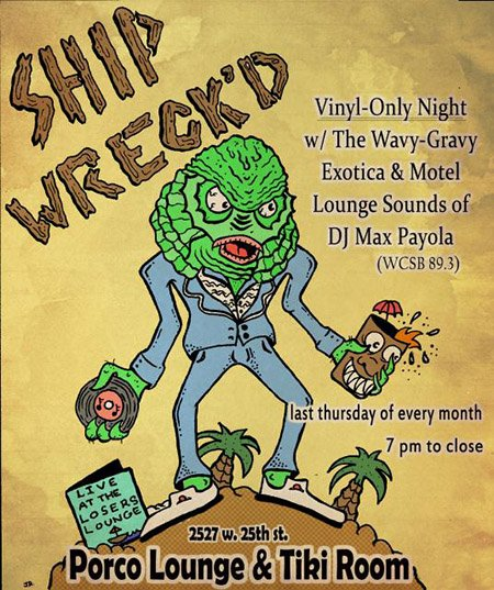 Shipwreck'd at Porco Lounge & Tiki Room
