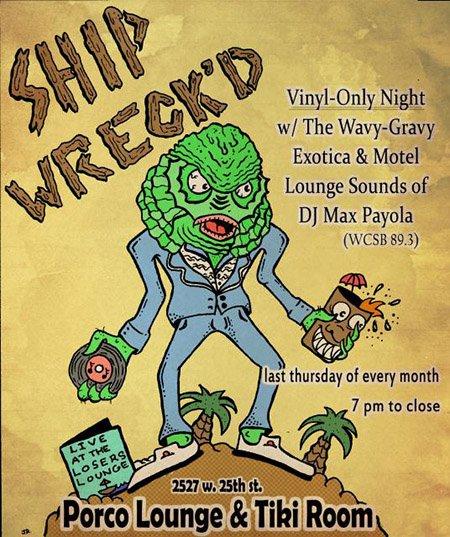 Shipwreck'd at Porco Lounge & Tiki Room