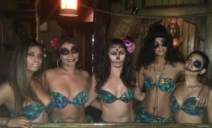 The Molokai girls get in the Hulaween spirit.