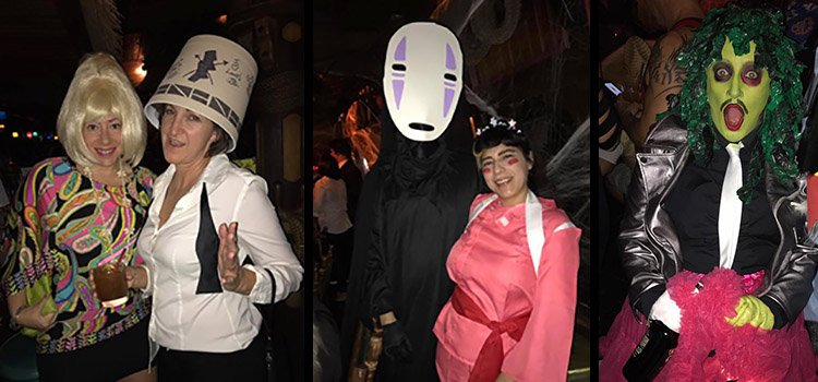 A selection of some of the many creative costumes.