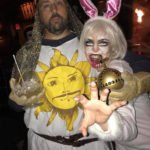 The Killer Bunny and King Arthur from Monty Python and the Holy Grail.