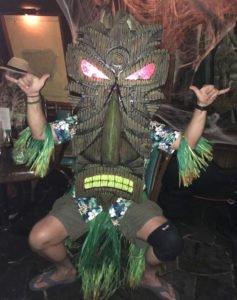 The third-place winner is the giant Tiki known as Wonga Tonga.