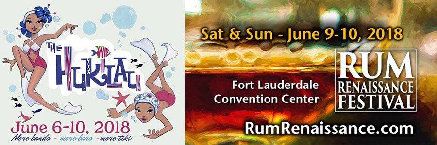 Rum Renaissance Festival and The Hukilau