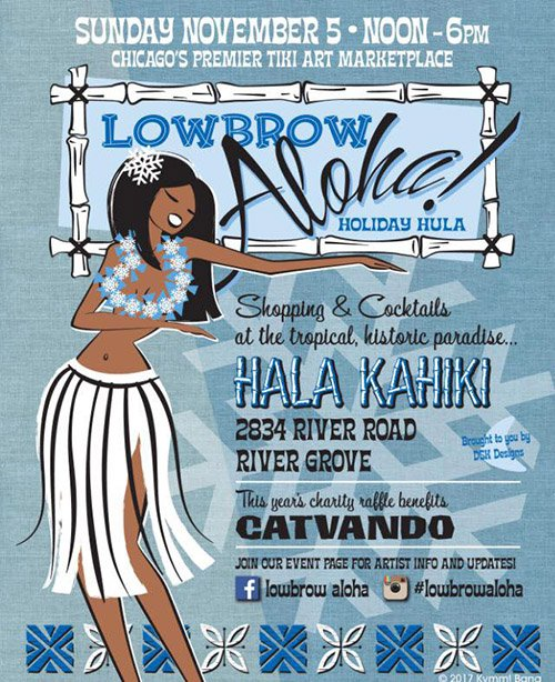 Lowbrow Aloha Holiday Hula