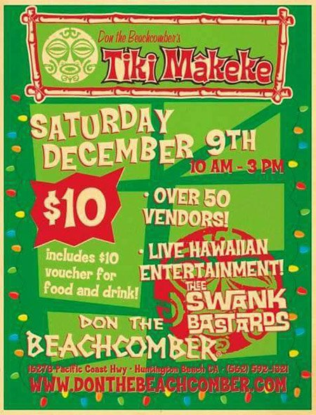 The Original Tiki Market Place Happy Hula Days