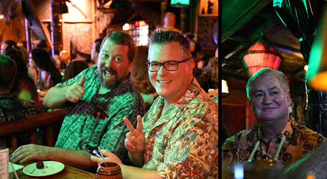 Enthusiastic guests enjoy The Mai-Kai's 60th anniversary party in December 2016 as owner Dave Levy oversees the festivities. (Photos by Medusirena Marina)