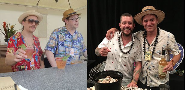 Milwaukee's Foundation Bar served up drinks at The Hukilau in 2016, while Jacksonvile's Flask & Cannon came on board in 2017. (Atomic Grog photos)