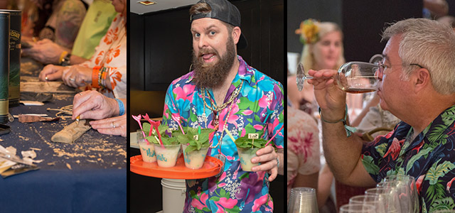 At The Hukilau 2017, villagers had the opportunity to participate in classes ranging from Tiki carving, to cocktails (with Chicago's Three Dots and a Dash), to rum tasting. (Photos by Heather McKean)
