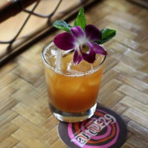 A traditional Mai Tai, as featured on BeachbumBerry.com and served at the Bum's Latitude 29 in New Orleans.