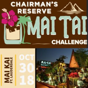Chairman's Reserve Mai Tai Challenge at The Mai-Kai