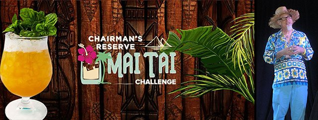"Author and Tiki cocktail historian Jeff ""Beachbum"" Berry will be one of the judges of the Chairman's Reserve Mai Tai Challenge regional final on Oct. 30 at The Mai-Kai. He'll also join the finalists in St. Lucia in March 2019. (Atomic Grog photo from The Hukilau 2016)"