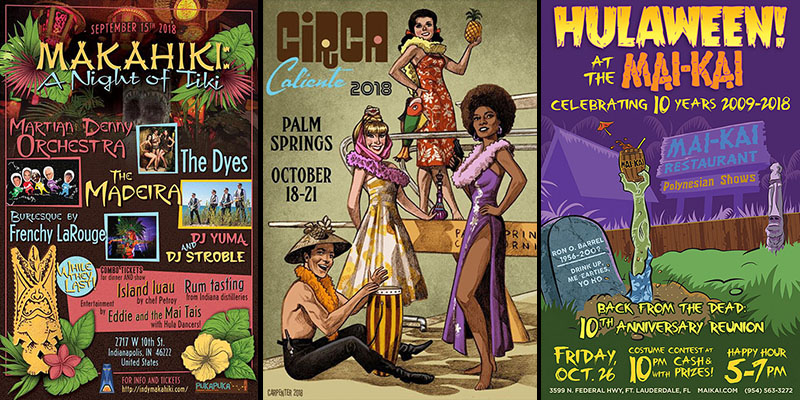 The Tiki Times: Exclusive event guide on The Atomic Grog