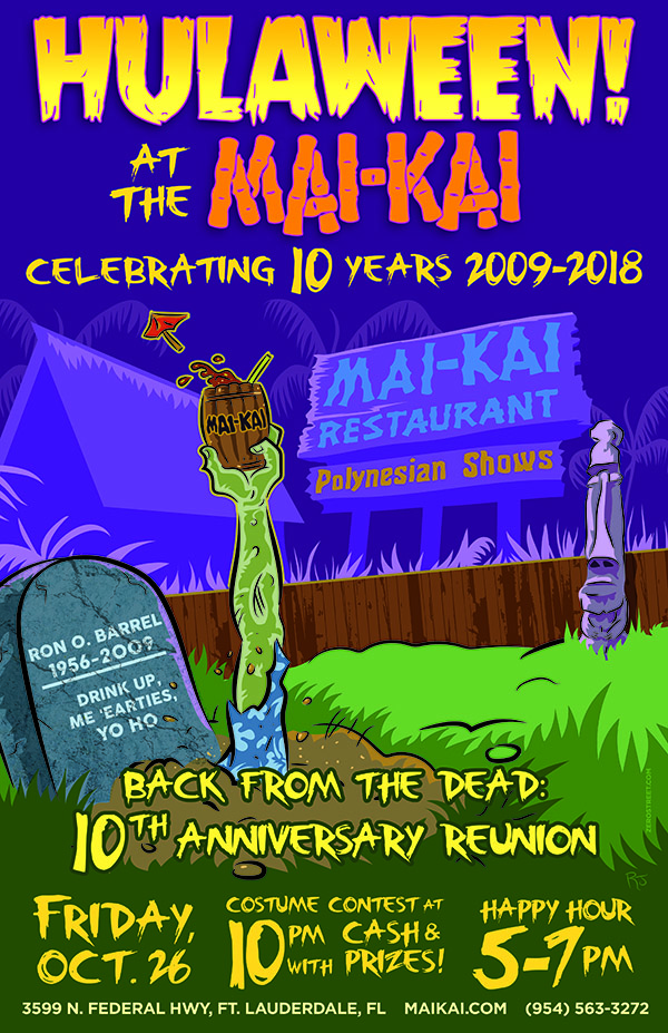 Hulaween 2018: Back from the Dead - 10th Anniversary Reunion