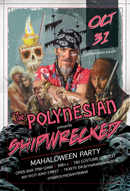 Shipwrecked Mahaloween Party