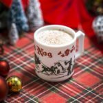 Jingle Balls Nog (cognac, Pedro Ximenez sherry, brown butter, cinnamon, cherry, vanilla, almond milk, cream, sugar, egg, nutmeg). (Photo courtesy of Miracle)