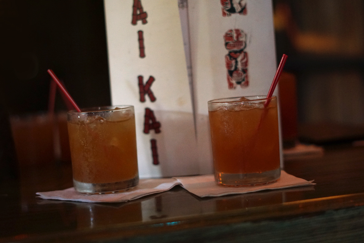The second sample was the 151 Swizzle, a Mai-Kai staple since 1956 featuring Lemon Hart 151 Demerara rum