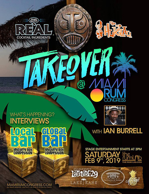 Takeover by Reàl Ingredients & The Hukilau at Miami Rum Congress