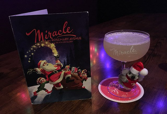 Koala-La La La, La La La La at Miracle on Rosemary. (Atomic Grog photo, December 2018)
