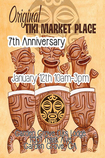 The Original Tiki Market Place 7th Anniversary
