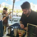 Mixologists shake up cocktails featuring sponsor Santa Teresa Rum from Venezuela
