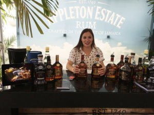 Appleton had its full line of premium rums on display and available for tasting