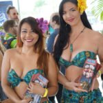 Several of The Molokai Girls were on hand to promote The Mai-Kai