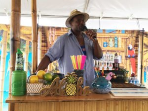 Rum ambassador Ian Burrell kicks off The Tiki Takeover bartender battle.