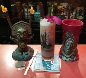 Skipper Mickey's Makani Pahili is served in The Atomic Grog with some signature items from Disney, the Polynesian Village Resort and Trader Sam's Grog Grotto. (Photo by Hurricane Hayward, January 2019)