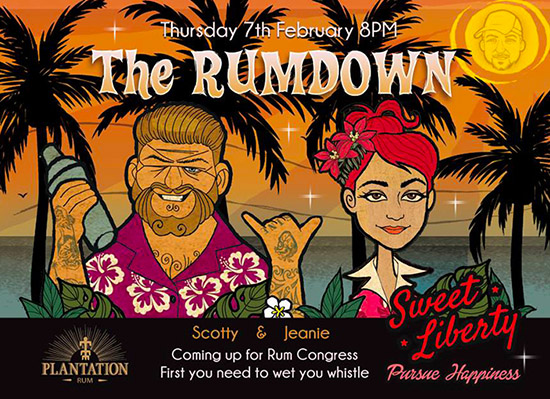 The Rumdown at Sweet Liberty during Miami Rum Congress