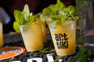 Bacardi served up four cocktails in its sponsor bar, including a take on the Mai Tai that includes its Anejo Cuatro, a 4-year-old rum