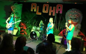 The Surfrajettes perform at their first major Tiki festival at The Hukilau on June 9, 2017.