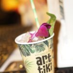 The Bacardi bar at the Art of Tiki featured last year's winning Judge's Choice cocktail, Otai One Off by Ben Potts of Beaker & Gray