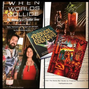 "The new book by Kelly ""Hiphipahula"" Reilly and Tom Morgan, profiled in the new issue of Exotica Moderne magazine, pays homage to the Tiki home bartending community."