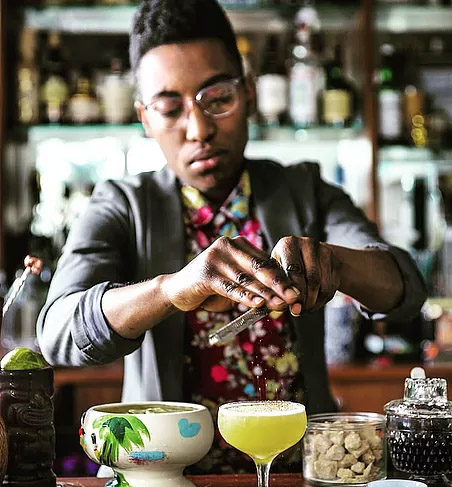 Shannon Mustipher is a Brooklyn-based bartender, cocktail consultant and spirits educator. (ShannonMustipher.com)