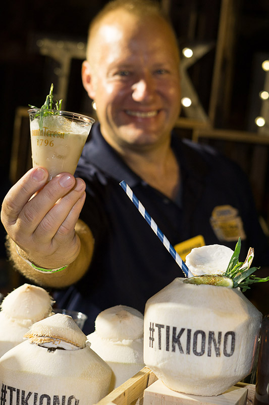 Robert Husted of Tiki Ono in Lake Worth presents Tiki Libre!