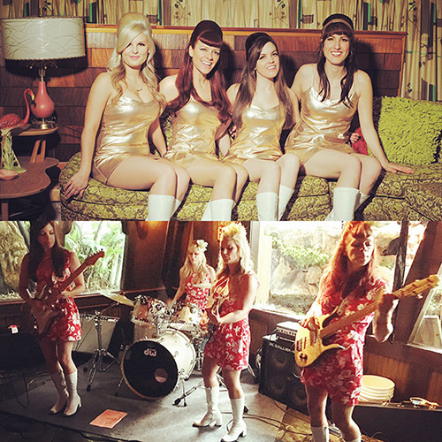 100 Days to The Hukilau: Weekend events at The Mai-Kai feature The Surfrajettes, preview party