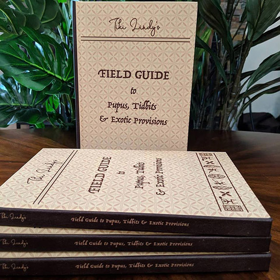 Tiki Lindy's Field Guide to Pupus, Tidbits & Exotic Provisions
