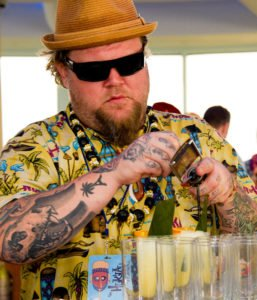 Scotty Schuder, owner/operator of Dirty Dick in Paris, returns for his second Tiki Tower Takeover. (Photo by Heather McKean)
