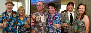 No one goes without a cocktail at the Tiki Tower Takeover. (Photos by Heather McKean)