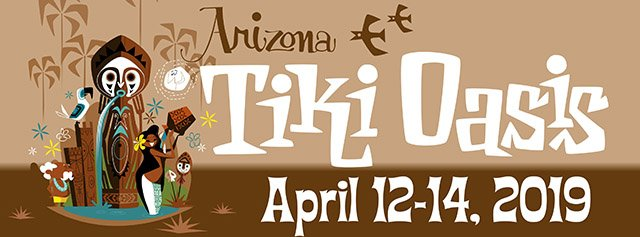 Arizona Tiki Oasis artwork by Mookie Sato