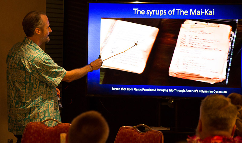 A few Don the Beachcomber secrets are revealed during the discussion of The Mai-Kai's mysterious syrups