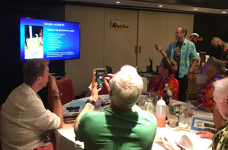Hurricane Hayward explains how he came up with the tribute recipe for The Mai-Kai's K.O. Cooler, a descendant of Don the Beachcomber's Q.B. Cooler