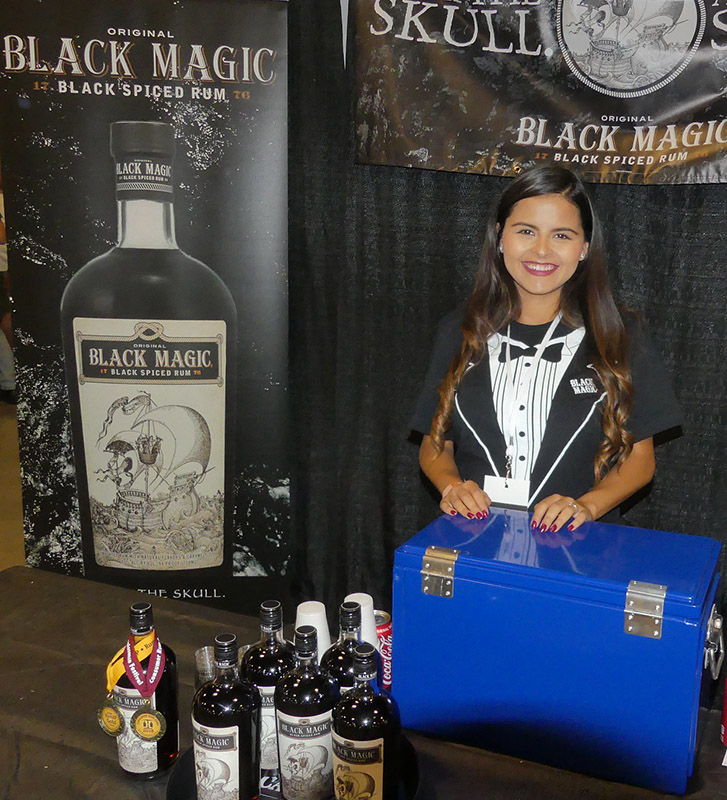 Black Magic was awarded gold medals for its spiced rum from both the expert judges and the Consumer Rum Jury. (Rum Renaissance Festival)