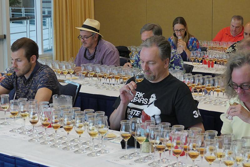 RumXP judges hard at work at the 2018 Rum Renaissance Festival. (Rum Renaissance Festival)